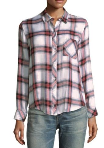 Rails Tarten Button-Down Shirt