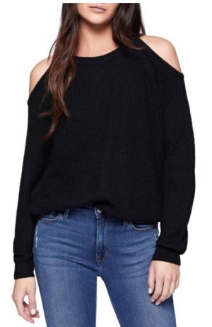 Sanctuary Cold Shoulder Sweater